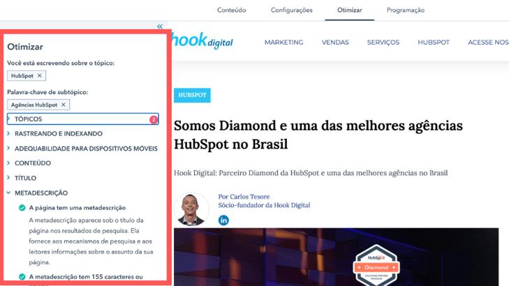 Blog SEO HubSpot