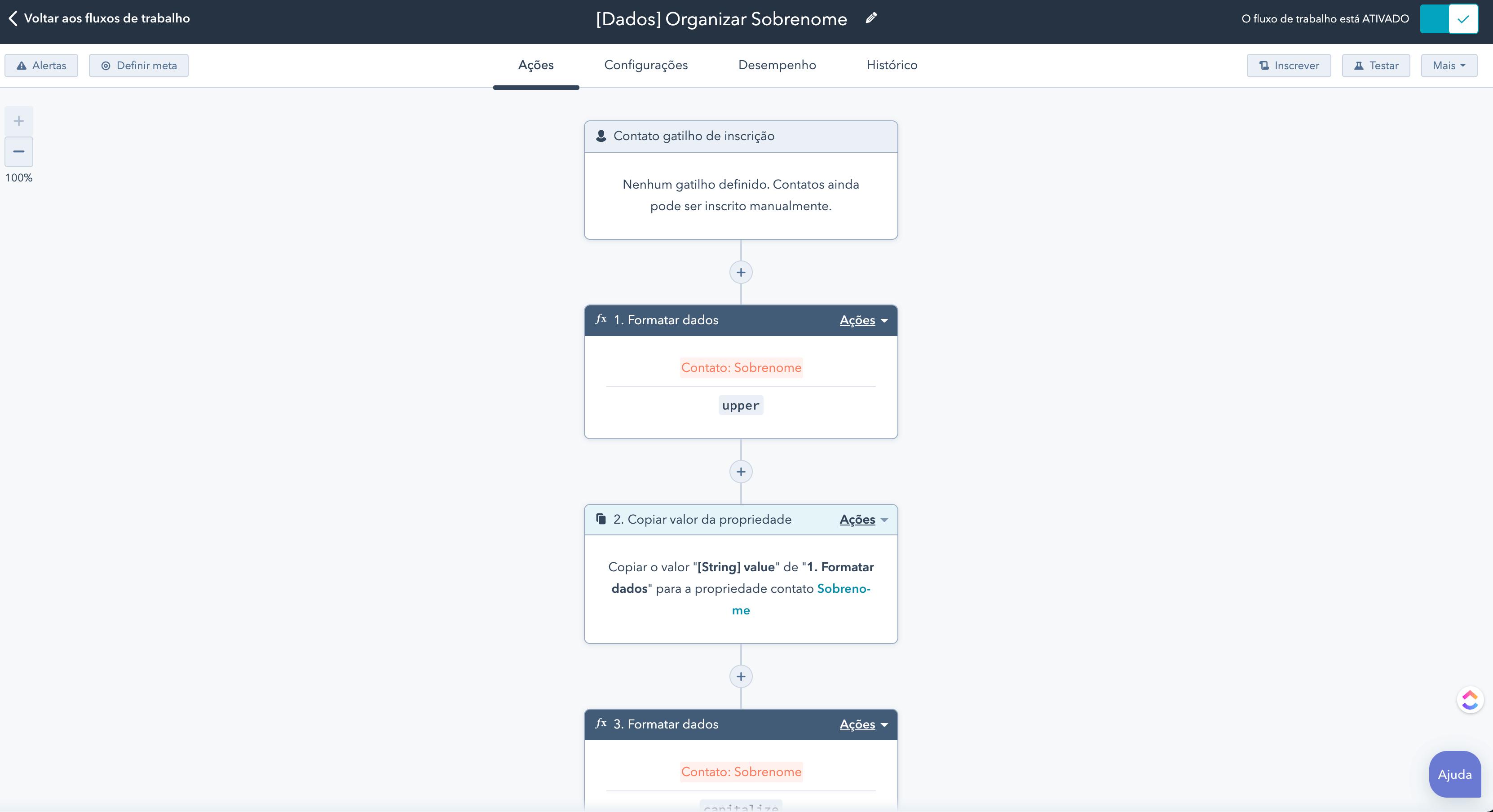 HubSpot Operations - Organizar dados